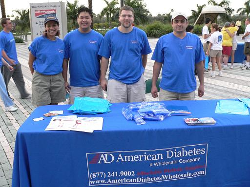 ADW at the ADA Walk