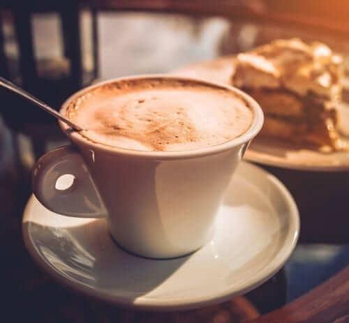 Coffee with Coffee Cake