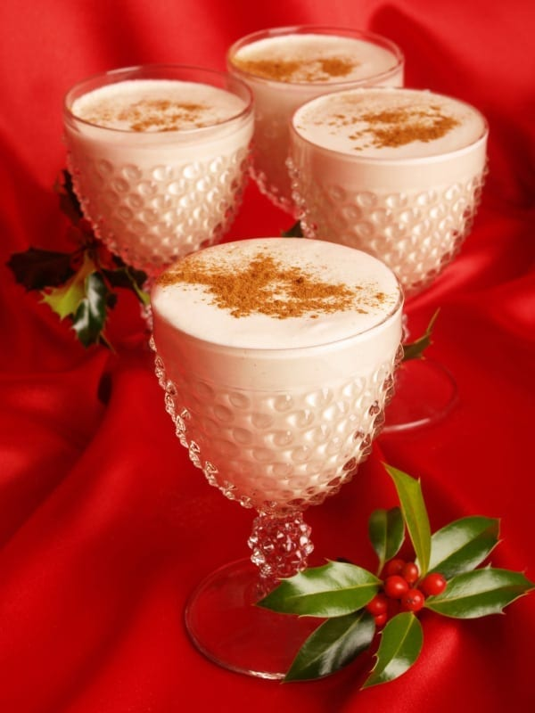Holiday Meal Tips and Healthy Eggnog Recipe