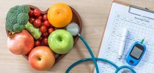 Diabetes concept health and management