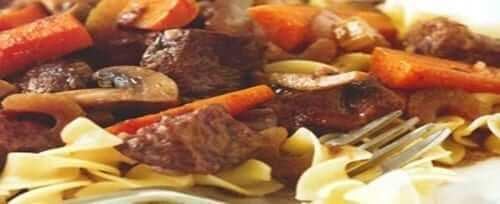 Beef Burgandy Recipe - Featured Image