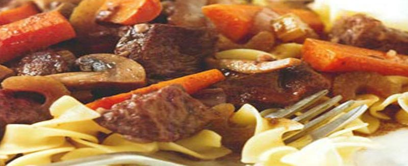 Beef Burgandy Recipe - Featured Image