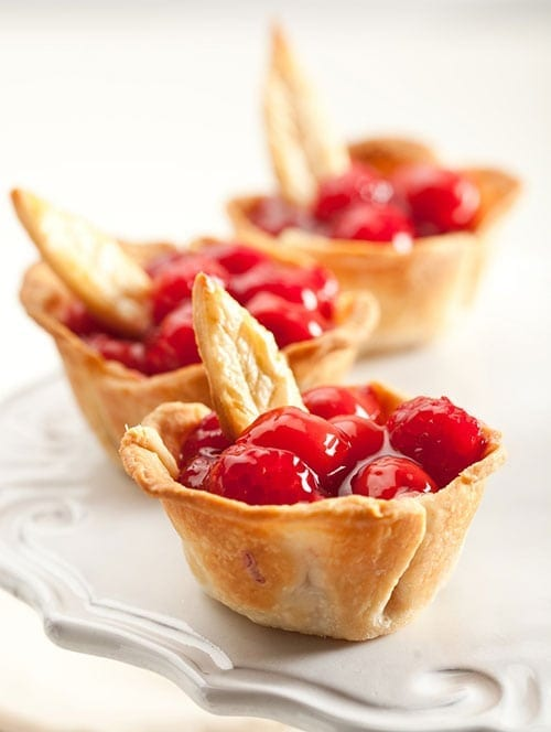 Restaurant tips - Cherry Pie Cups