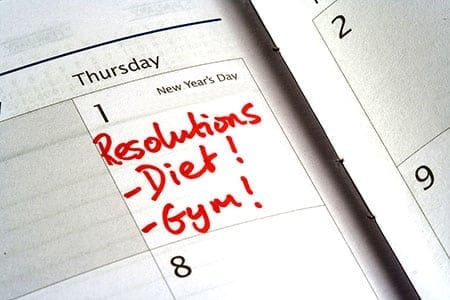 Creative New Year Resolutions with Diabetes
