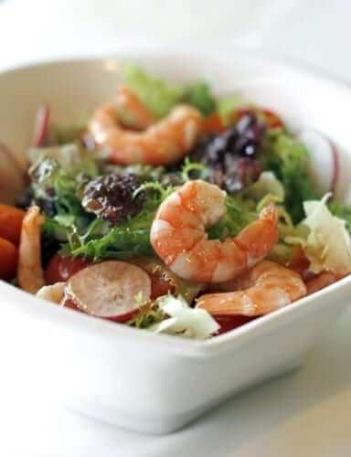 Healthy New Year Food Trick - Veggie Salad