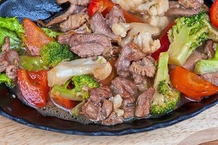 Diabetic Healthy Beef Stir Fry