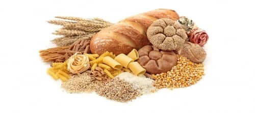 Variety of Grains and Pasta