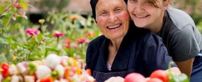 Elderly Parent With Diabetes
