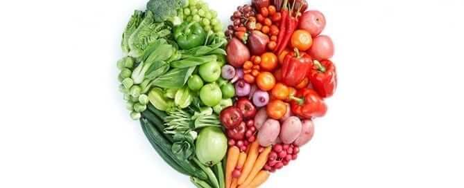 Heart Made of Fruits and Vegetables - Featured Image