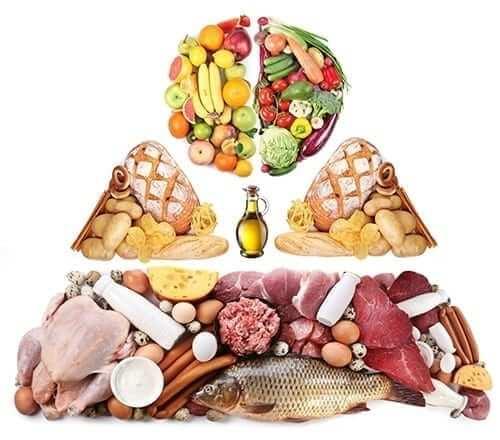 Food Pyramid - Nutrients
