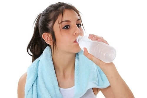 Water - Excessive sweating