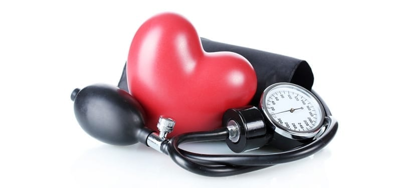 Heart on Blood Pressure Monitor