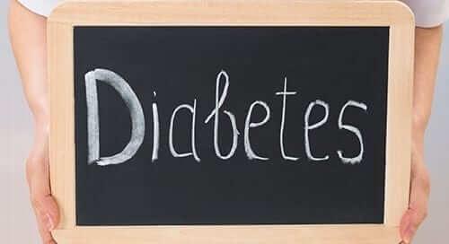Diabetes Chalkboard