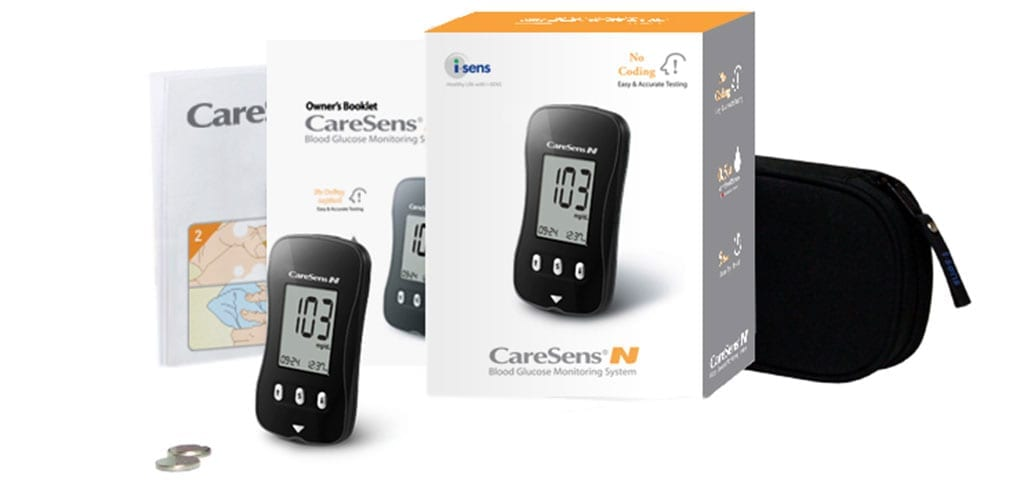 Caresense Kit Contents