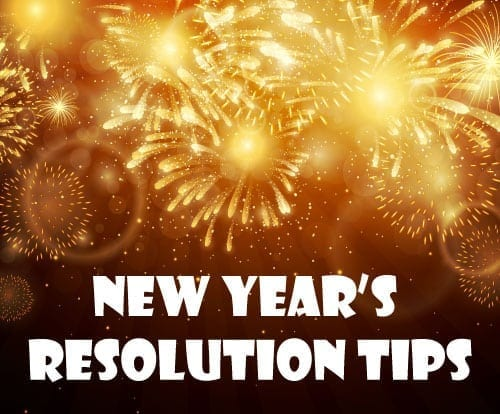 Happy and Healthy New Years Resolution Tips