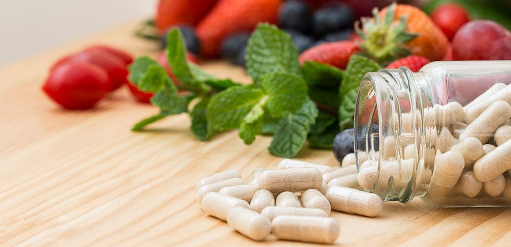 Dietary Supplements Concept