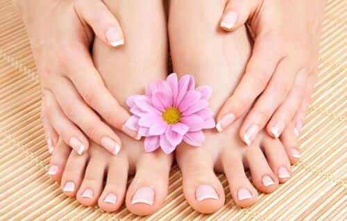 Pedicure and Manicure