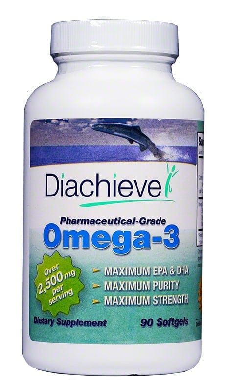 Diachieve Omega-3 Dietary Supplement 90ct