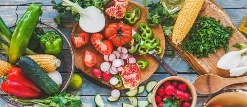 Summer Vegetables and Fruit