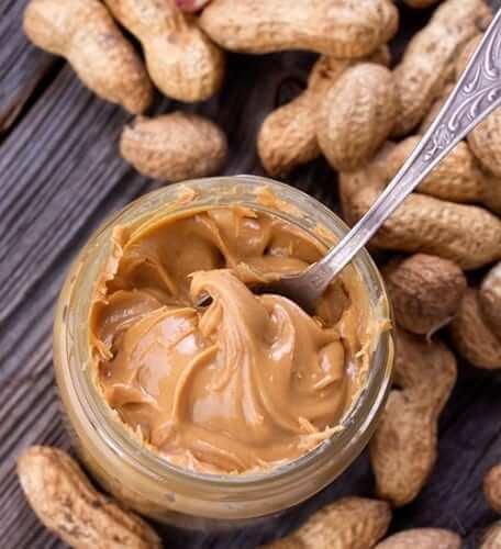 Creamy low-fat, low-sugar peanut butter