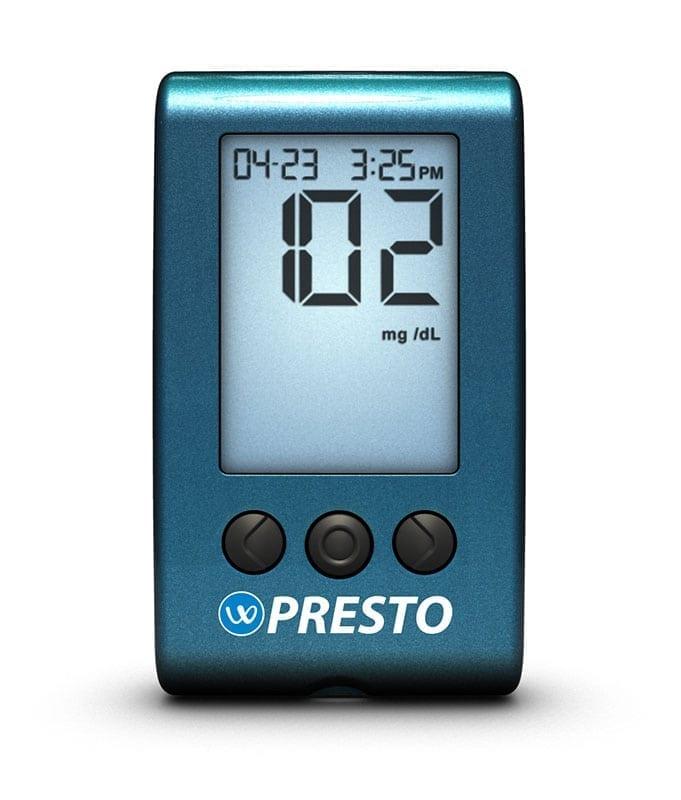 AgaMatrix Presto Glucose Meter