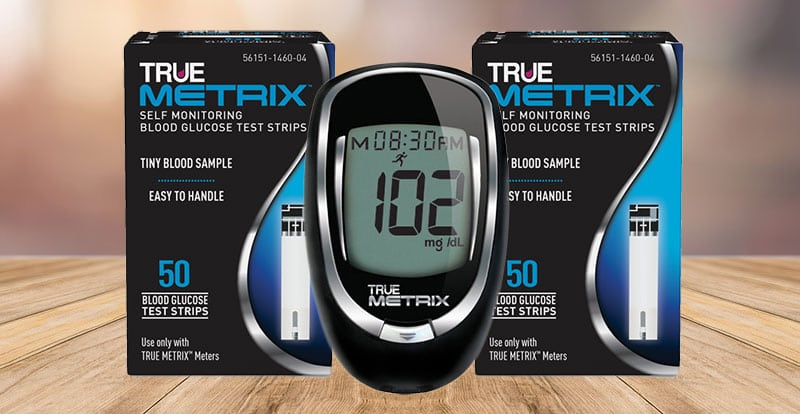 True Metrix Glucose Meter and Test Strips