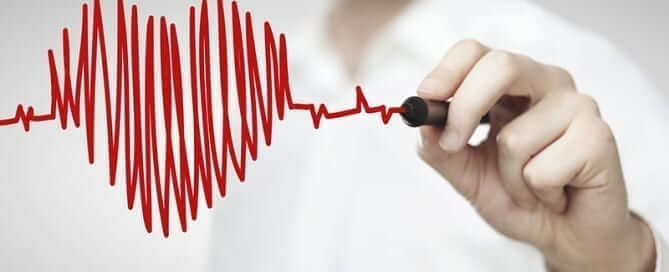 Heart Beat Drawing
