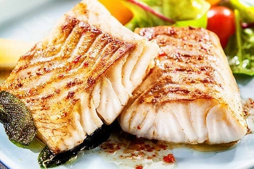 Eating Tips - Grilled Fish in Olive Oil