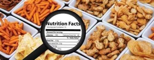 Mislabeled Snack Foods