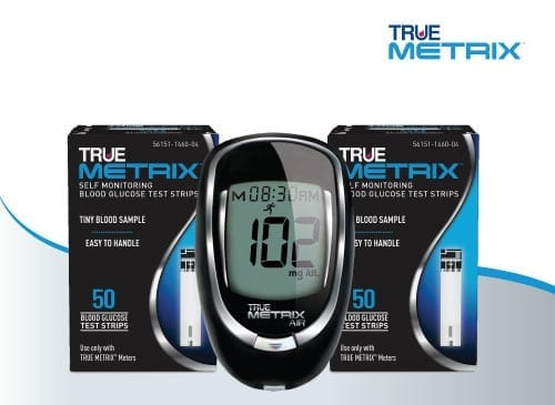 TrueMetrix Meter and Test Strips