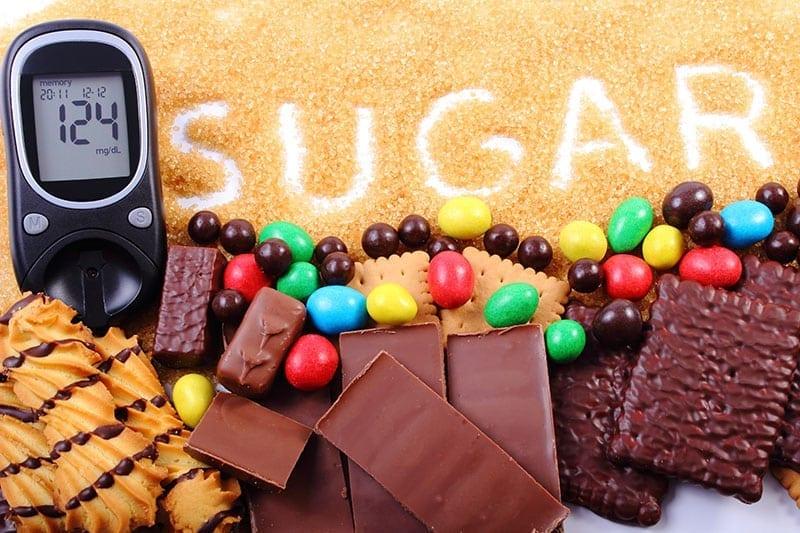 Diabetes sugar concept