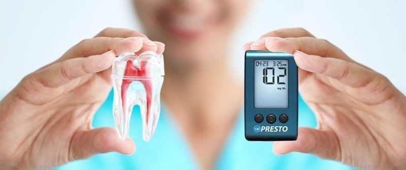 Gum Disease and Diabetes Concept