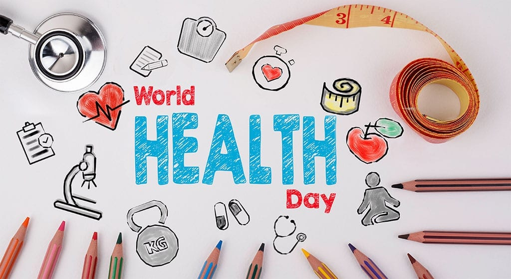 View Larger Image World Health Day