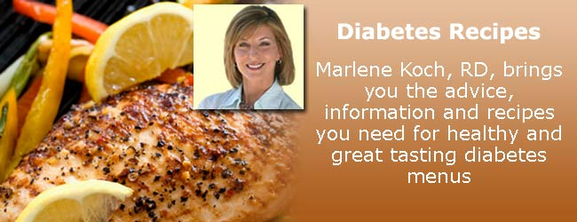Diabetes Recipes from Marlene Koch