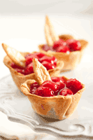 Cherry Berry Pie Cups