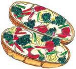 Very Veggie Italian Bread Pizza