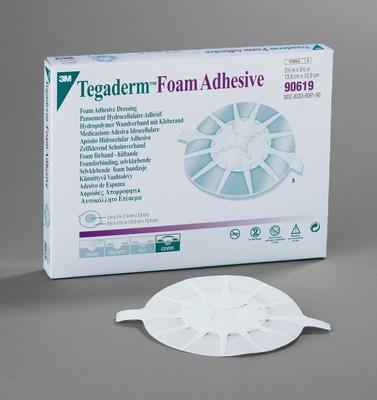 3M Foam Adhesive Heel Design Dressing 5.5