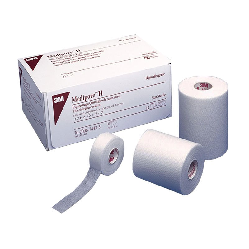 3M Medipore H 2868 Soft Cloth Surgical Tape 8 in x 10 yd Roll