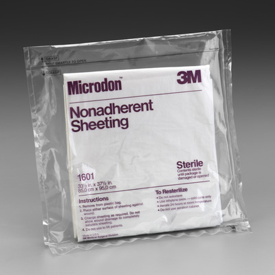 3M Microderm Non Adhesive Sheeting 33.5inx 37.5in - Sold By Each