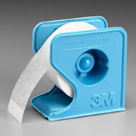 3M Micropore Tape - 1/2 in x 10 yd - White Roll w/Dispenser - # 1535-0 thumbnail