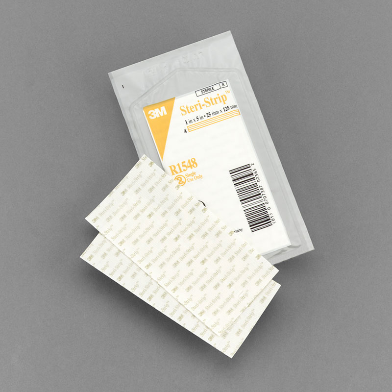 3M Steri Strip Adhesive Skin Closure  0.25in x 4in - Sold By Box 50