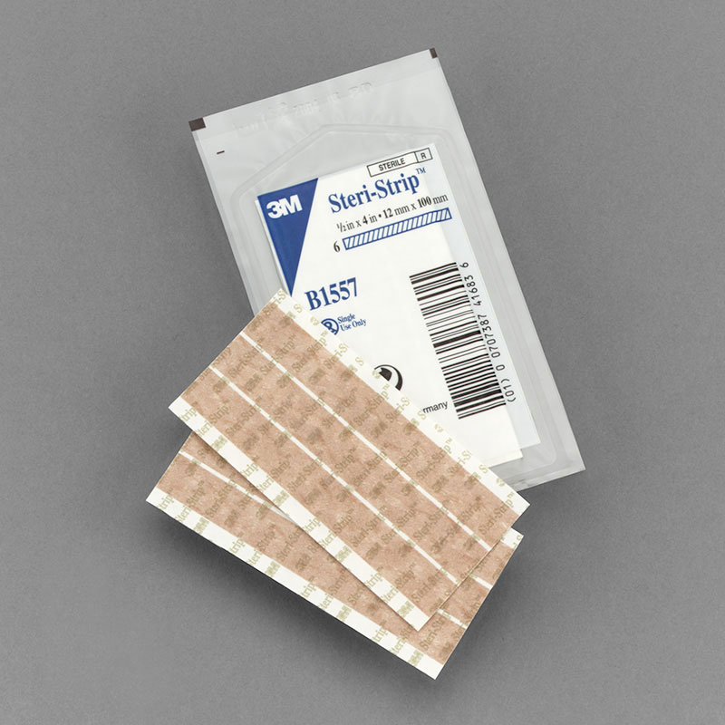 3M Steri Strip Flesh Tone 0.5in x 4in - Box of 50