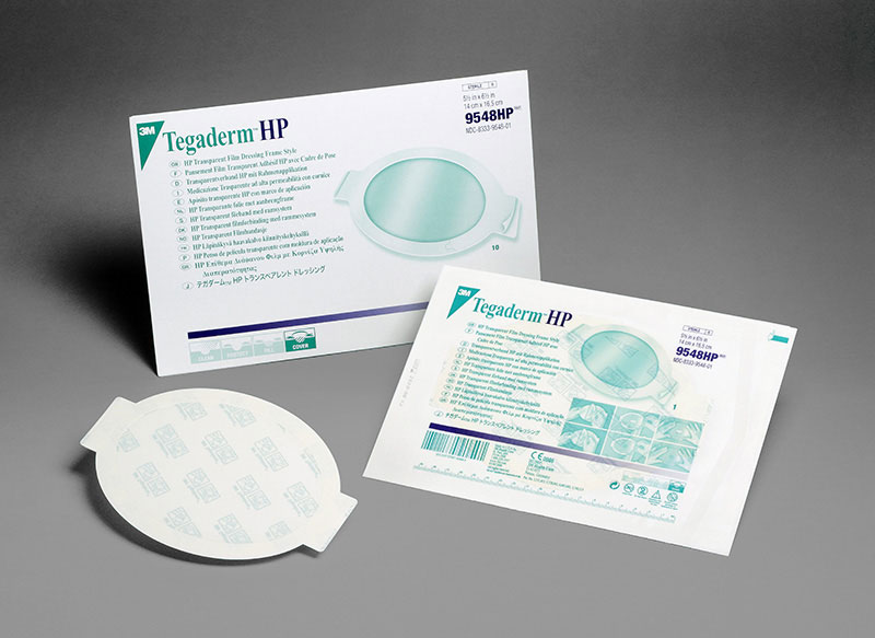 3M Tegaderm HP Transparent Dressing 5.5in x 7in - Box 10