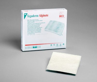 3M Tegaderm HG Alginate Wound Dressing 4in x 4in - Box of 10