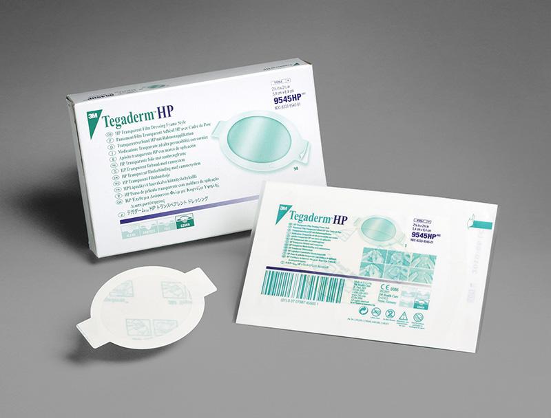 3M Tegaderm HP Transparent Dressing 2.13in x 2.5in Box 50