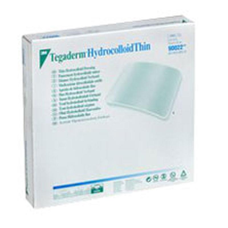 3M Tegaderm Hydrocolloid Thin Dressing 4in x 4in - Box 5