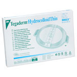 3M Tegaderm Hydrocolloid Thin Dressing 4in x 4.75in - Sold By Box 10