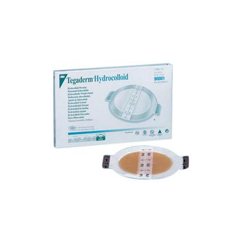 3M Tegaderm Hydrocolloid Wound Dressing 4 x 4 - Box of 5