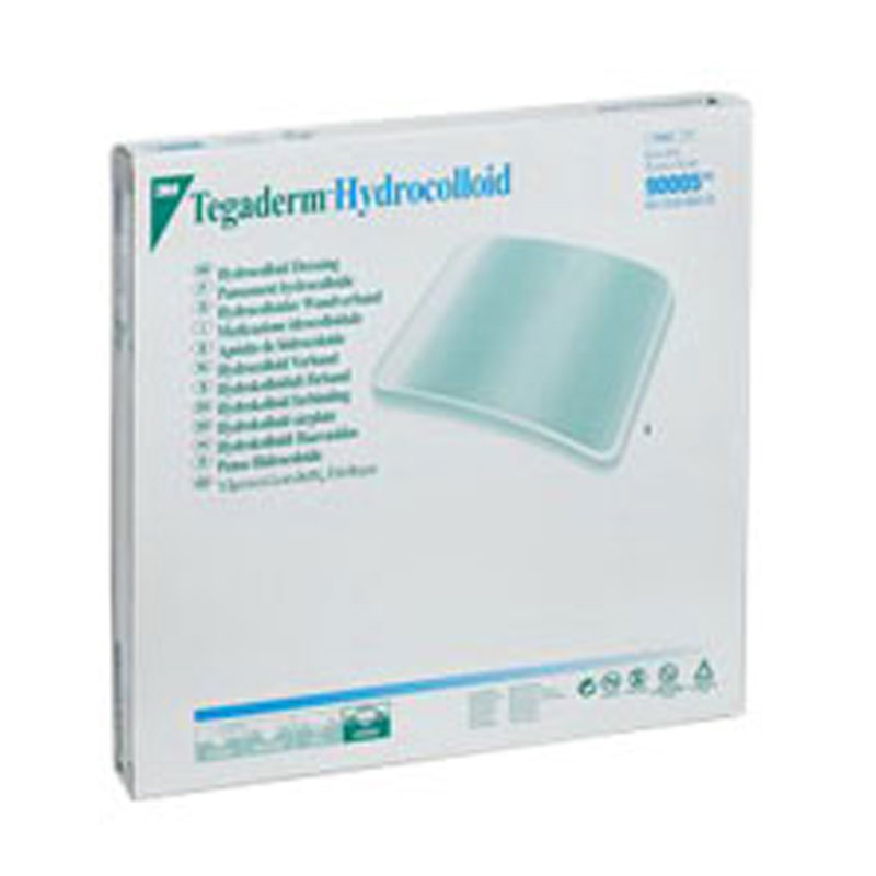 3M Tegaderm Hydrocolloid Wound Dressing 6in x 6in - Box of 3
