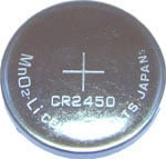 Lithium CR 2450 3V Battery for Glucometers